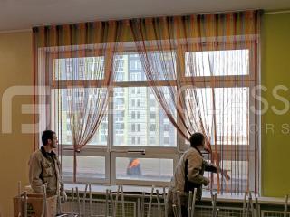 Окна из стеклокомпозита в ДОУ, ул.Базовская (05)