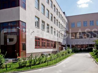 Окна из стеклопластика в школе на ул.Щепкина