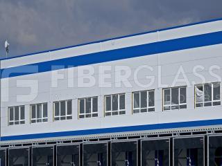 Стеклокомпозитные окна, Завод Pepsi