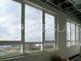 Окна из стеклокомпозита, Завод Pepsi