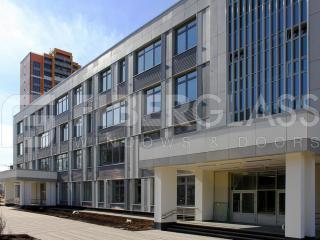 Стеклокомпозитные окна в школе на ул.Базовская (04)