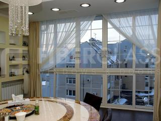 Теплое раздвижное окно из стеклопластика