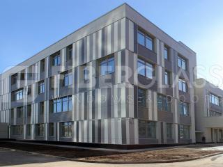 Стеклокомпозитные окна в школе на ул.Базовская (02)