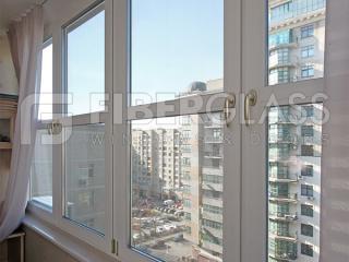 Остекление лоджии теплыми окнами