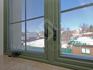 """""""Английские"""" окна, открывание наружу"""