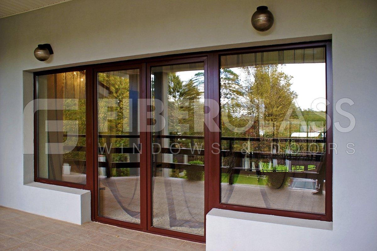 Коттеджи - fiberglass windows and doors - окна и двери из ст.